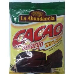 CACAO AMARGO 200g LA...