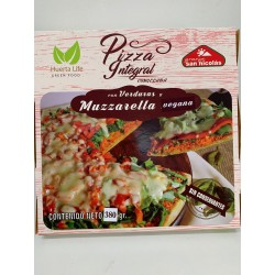 PIZZA INTEGRAL VERDURAS Y...